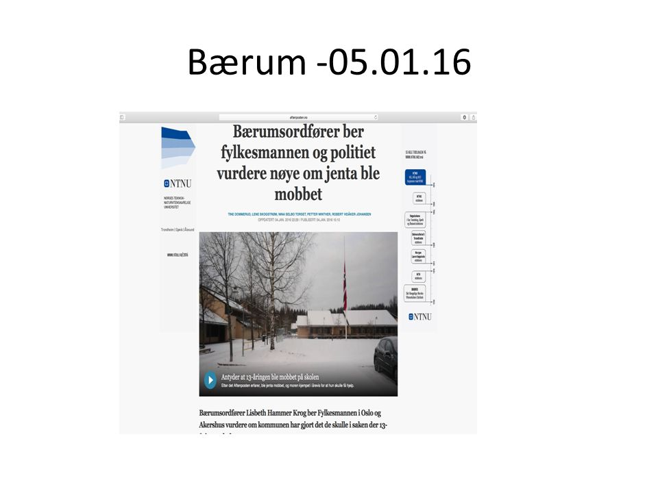 Bærum -05.01.16