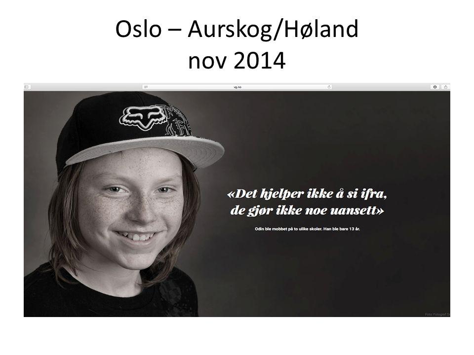 Oslo – Aurskog/Høland nov 2014