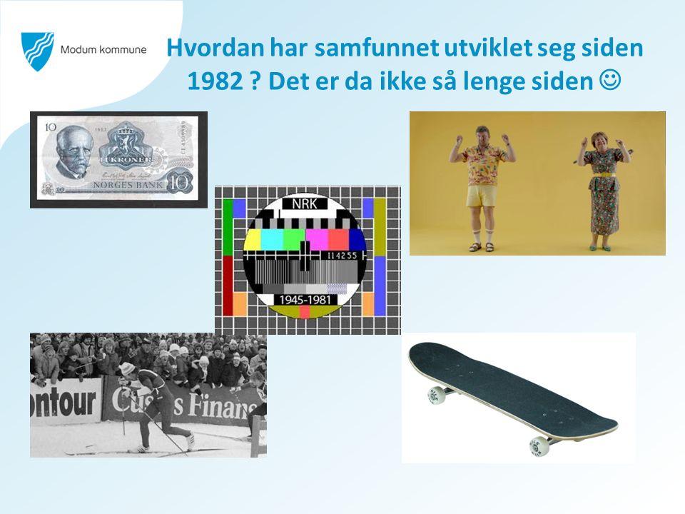 I 1982 fikk videregående skole i Modum