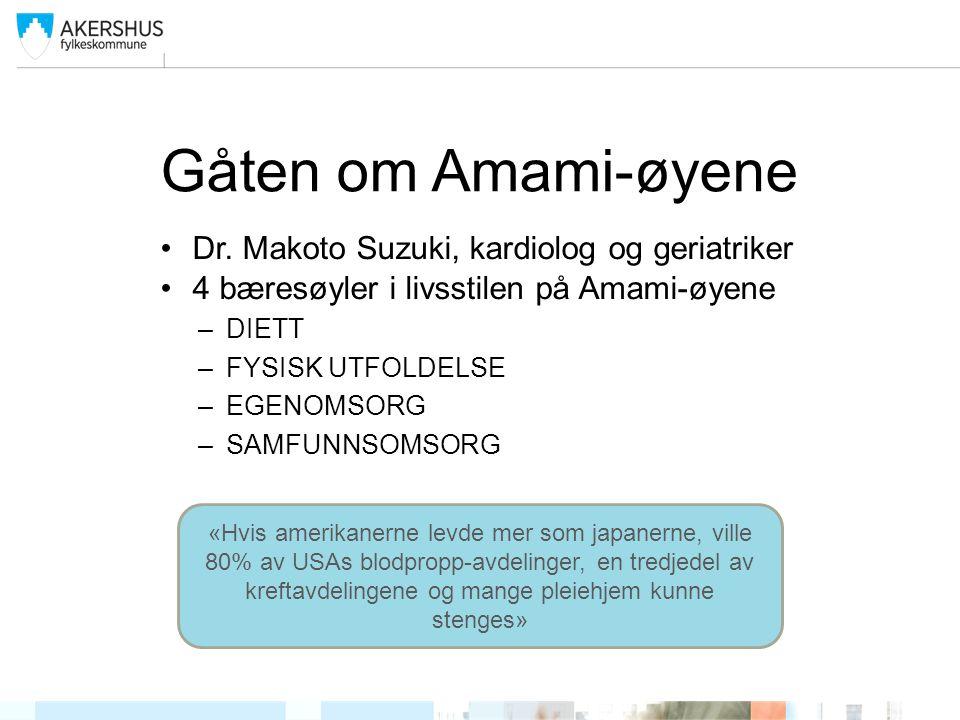 Gåten om Amami-øyene Dr.
