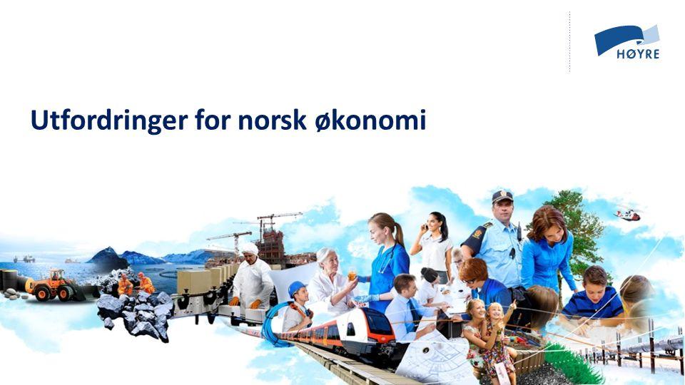 Utfordringer for norsk økonomi