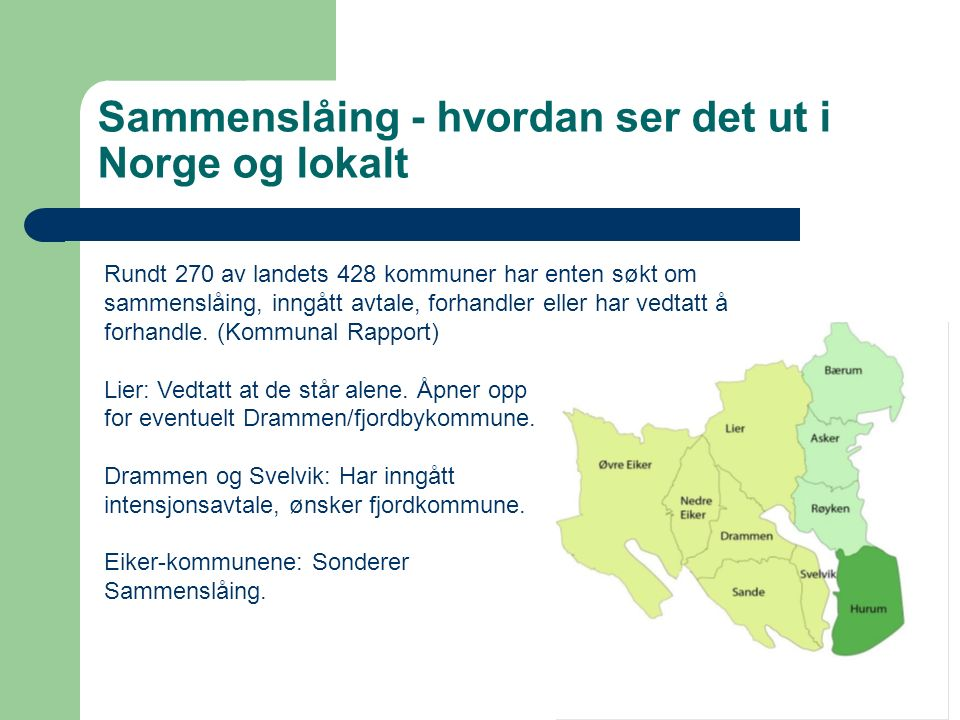 NØKKELTALL / INNBYGGERTALL / DEMOGRAFI KommuneRøykenAskerBærumHurum Areal113130,96216,71260,71 Innbyggere21038595711206859365 Brutto budsjett 1.05 MNKR3.07 MNKR6.3 MNKR0,46 MNKR Kommune- styre repr.