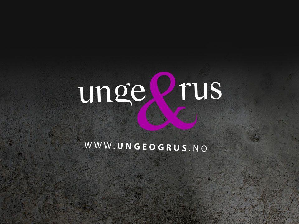 Unge & Rus eies og driftes av KoRus-Nord Kompetansesenter rus, Nord-Norge  Unge & Rus er utviklet i et samarbeid mellom −KoRus-Nord −Høgskolen i Bergen v/professor dr.