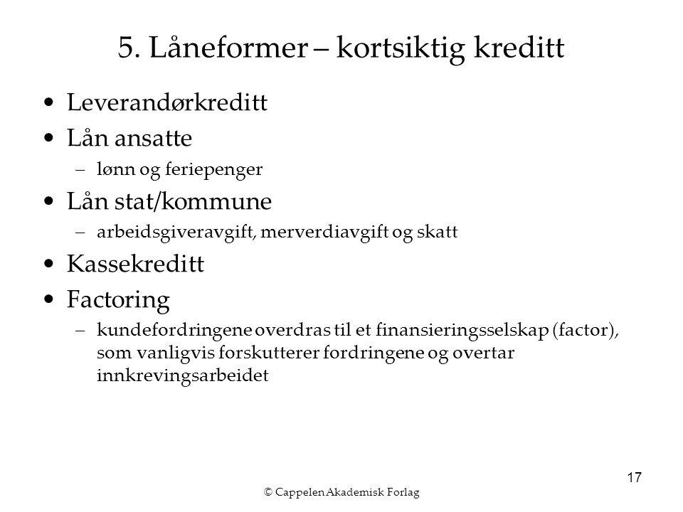 © Cappelen Akademisk Forlag 17 5.