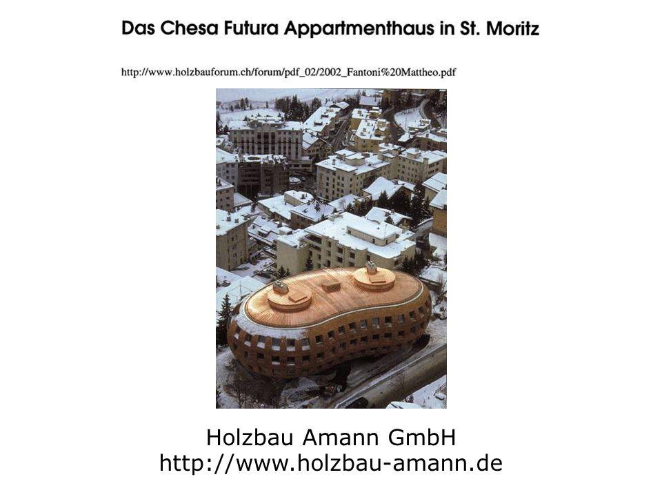 Holzbau Amann GmbH http://www.holzbau-amann.de
