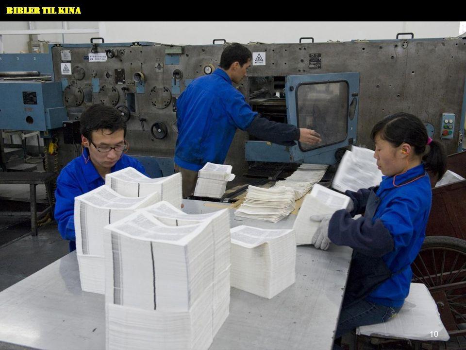 Bibler til Kina 11