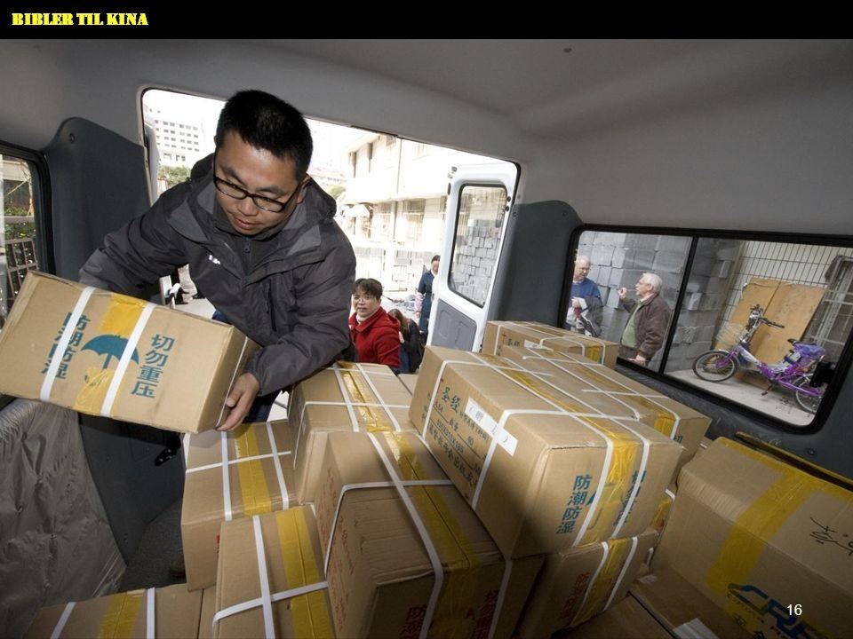 Bibler til Kina 16