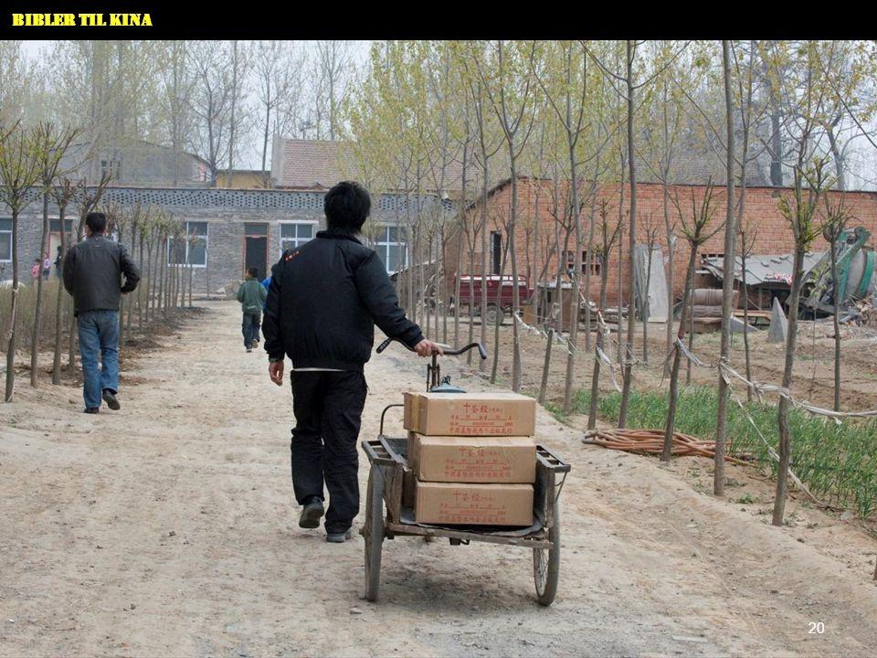 Bibler til Kina 20