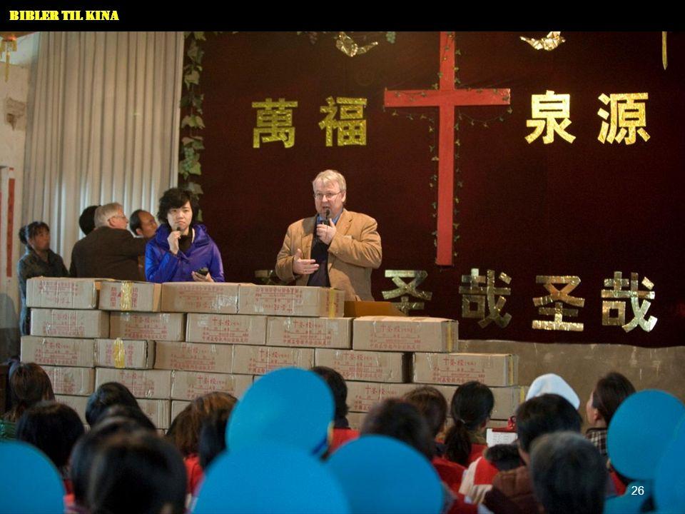 Bibler til Kina 26