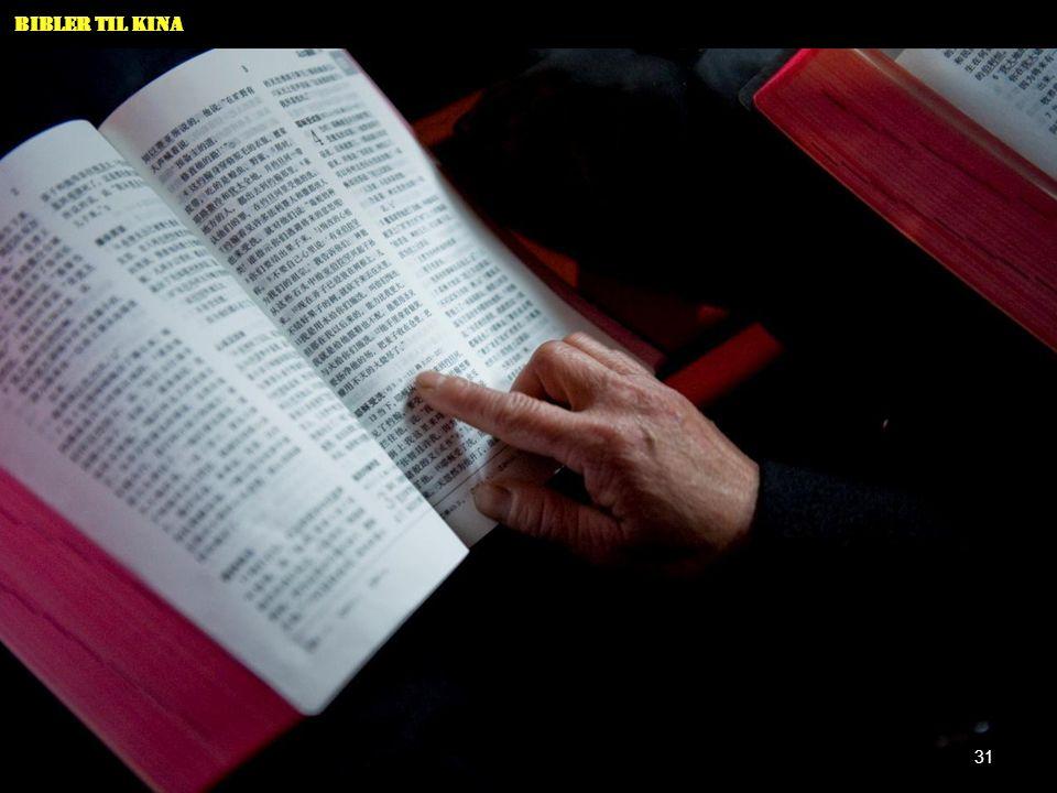 Bibler til Kina 31