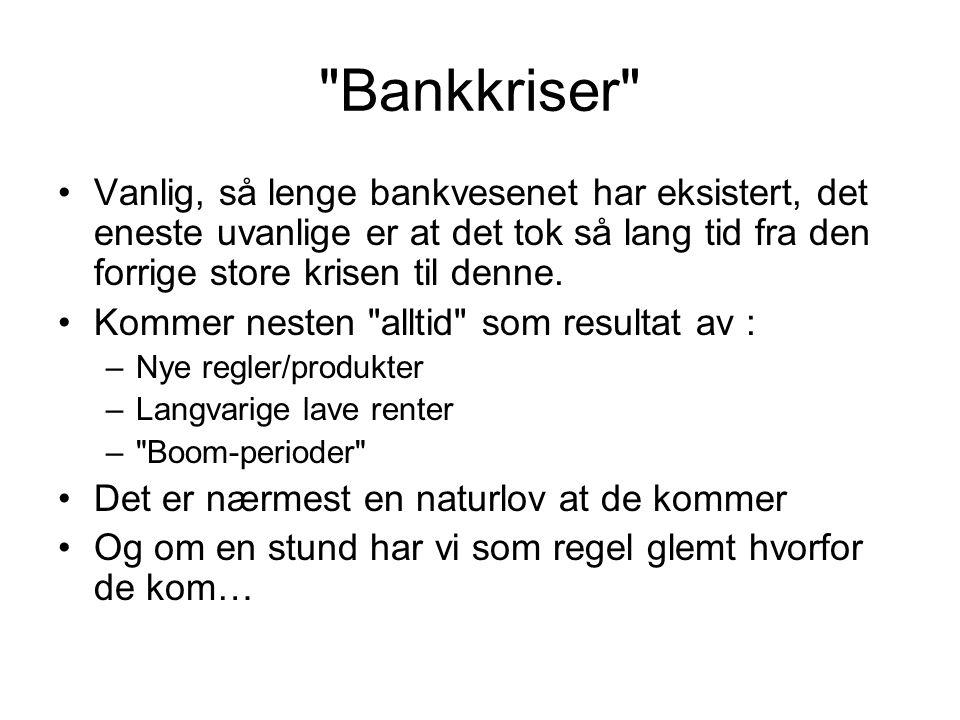 Norske renter – på veg opp