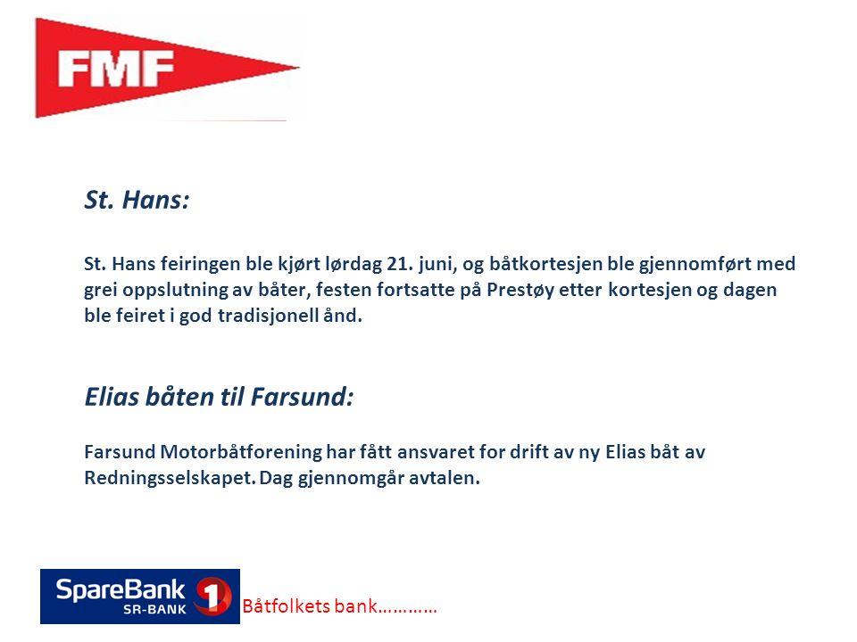St. Hans: St. Hans feiringen ble kjørt lørdag 21.