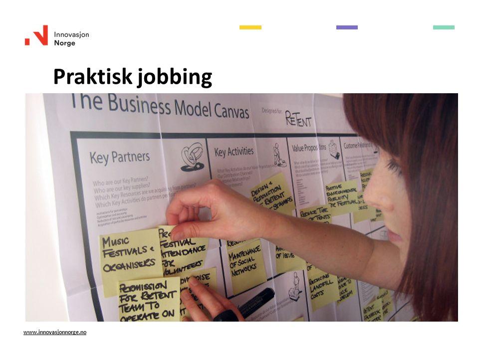 Praktisk jobbing www.innovasjonnorge.no