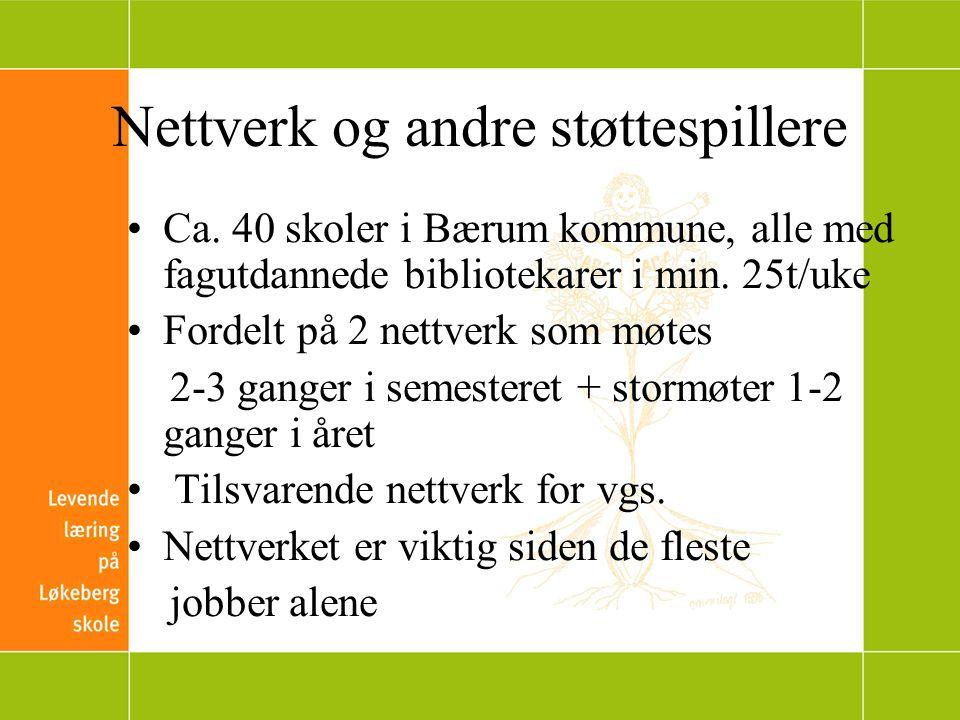 Nettverk og andre støttespillere Ca.