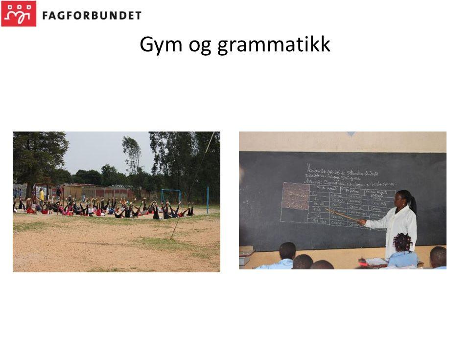 Gym og grammatikk