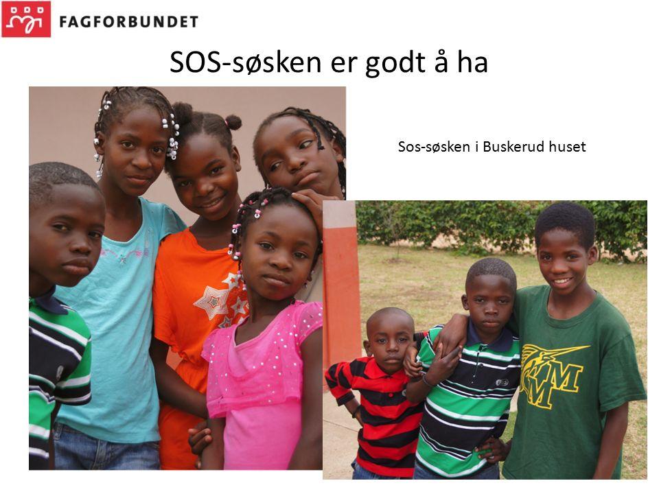SOS-søsken er godt å ha Sos-søsken i Buskerud huset