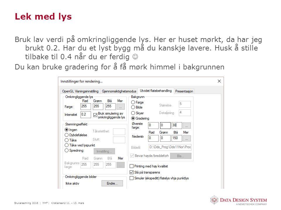 Brukersamling 2016 | MHF | Kristiansand 11. – 13.