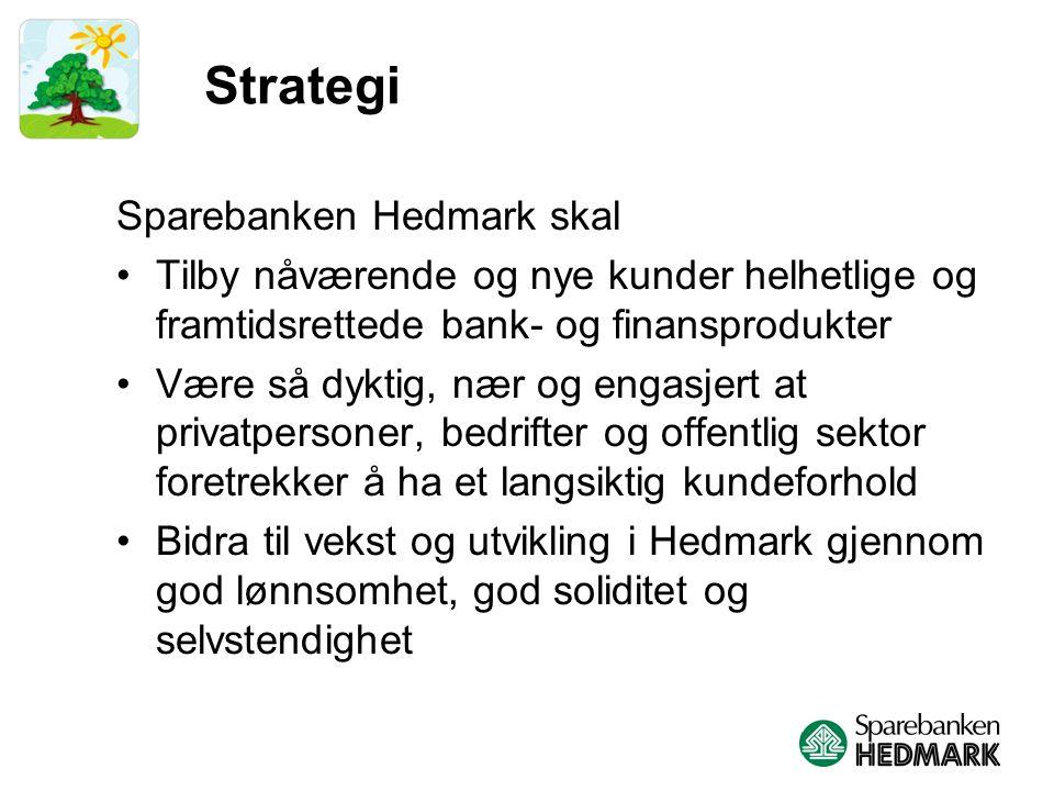 Sparebanken Hedmark – 10 års utvikling