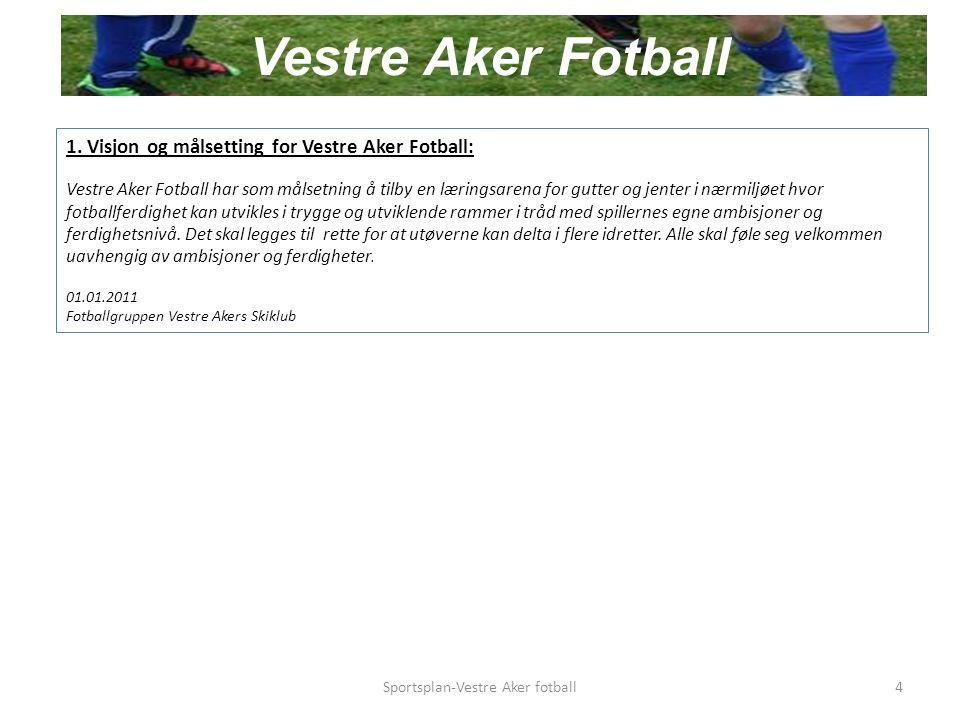 14.Vestre Aker Trenerforum (VAT) Hva er VAT. Samling for alle klubbens trenere.