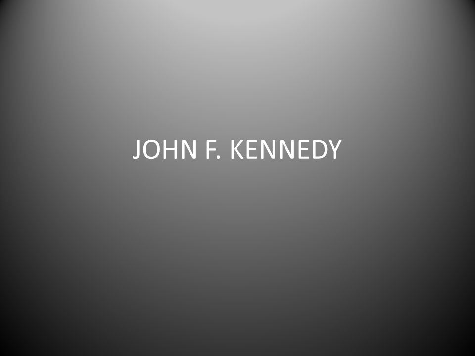 Mange hadde stemt på Kennedy fordi de trodde at han var mannen som kunne stå i mot kommunismen.