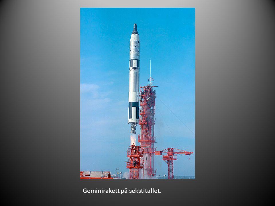Geminirakett på sekstitallet.