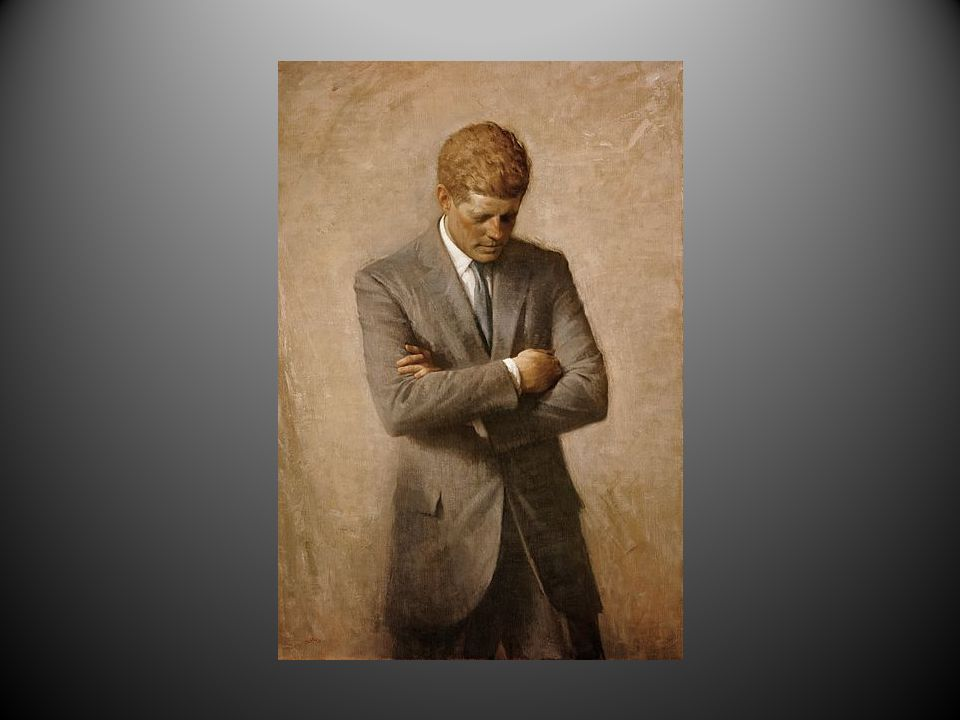 Visepresident Johnson utnevnes til president.