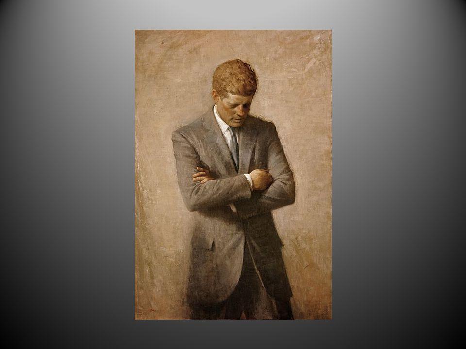 John Fitzgerald «Jack» Kennedy (født 29.mai 1917 i Brookline, død 22.