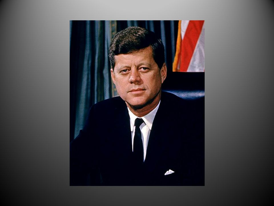 Han vant over Richard Nixon i et meget jevnt valg i 1960.