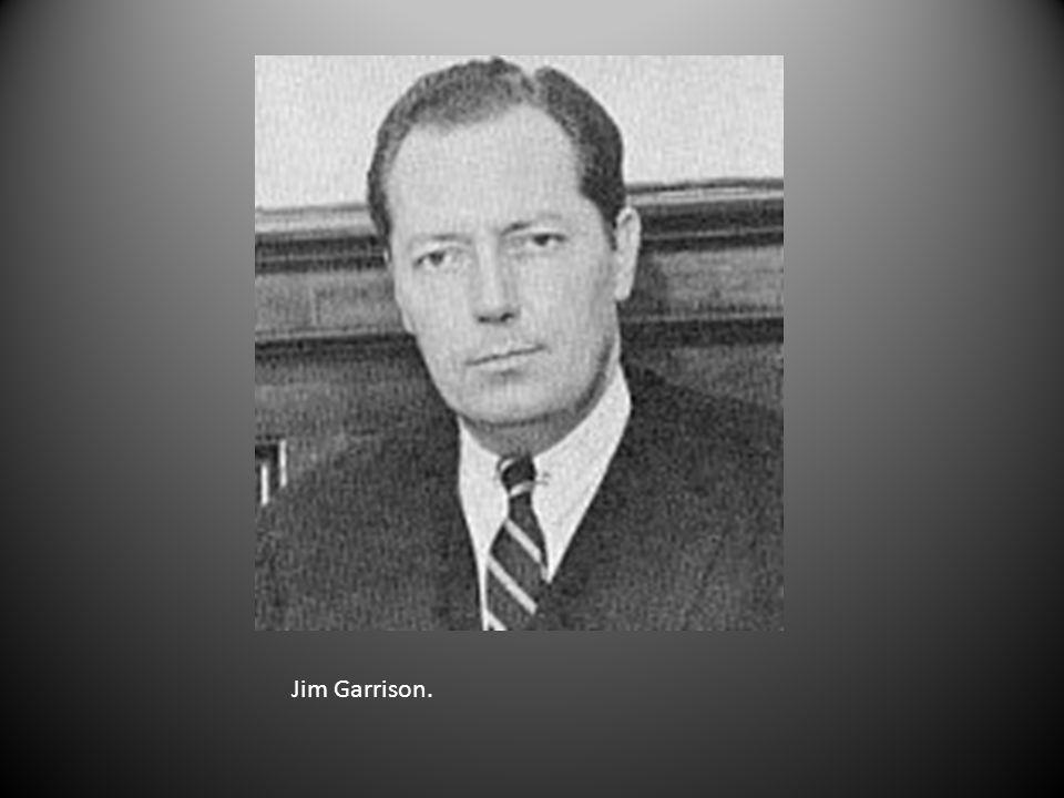 Jim Garrison.