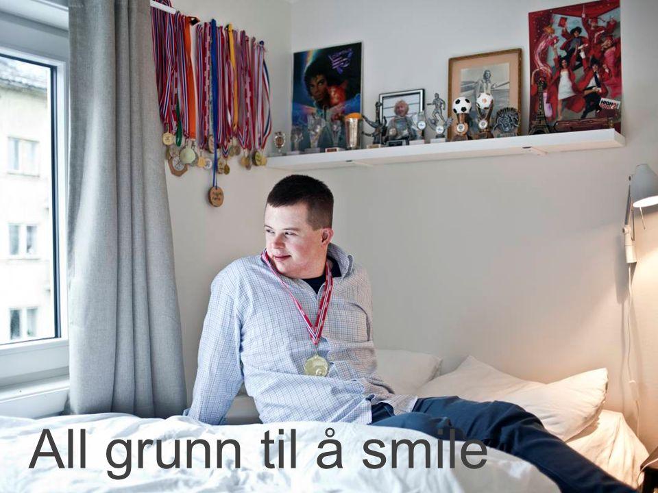 All grunn til å smile