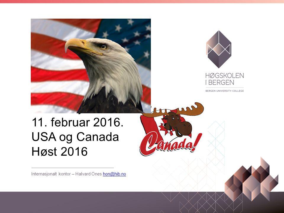 Informasjonsmøte 11. februar 2016.