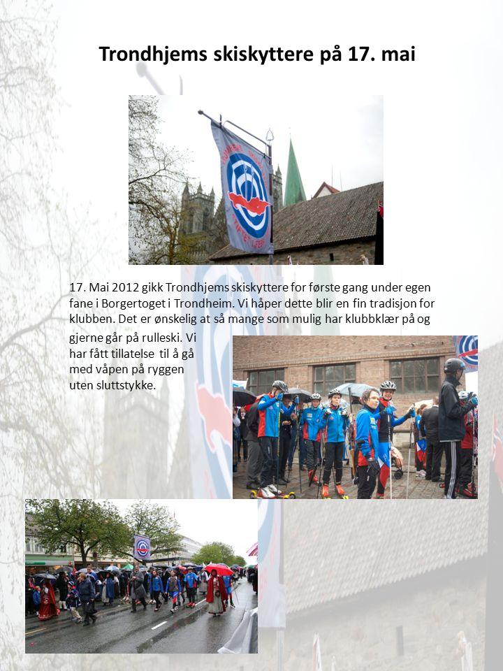 Trondhjems skiskyttere på 17. mai 17.