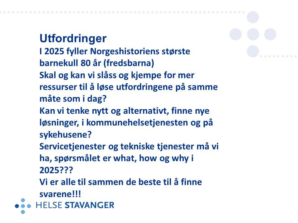 Utfordringer I 2025 fyller Norgeshistoriens største barnekull 80 år (fredsbarna) Skal og kan vi slåss og kjempe for mer ressurser til å løse utfordringene på samme måte som i dag.