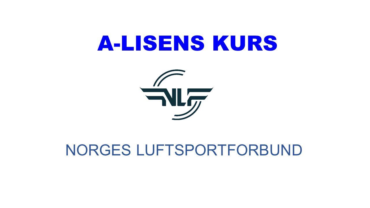 A-LISENS KURS NORGES LUFTSPORTFORBUND