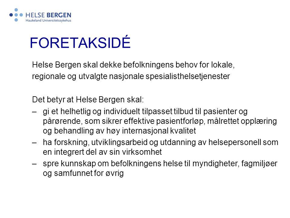Helse Bergen HF Selvstendige enheter før 01.01.2002 -Haukeland sykehus, Bergen -Voss sjukehus, Voss -Kysthospitalet Hagevik, Hagavik -Sandviken Sykehus, Bergen -Nordåstunet, Rådal -Habiliteringstenesta for vaksne funksjonshemma, Nyborg -Åstveit distriktspsykiatriske senter, Tertnes -Askviknes voksenpsykiatriske senter, Hagavik -Fjell og Årstad distriktspsykiatriske senter, Straumsgrend -Radøy sjukeheim, Manger -Osheim behandlingsheim for barn, Os