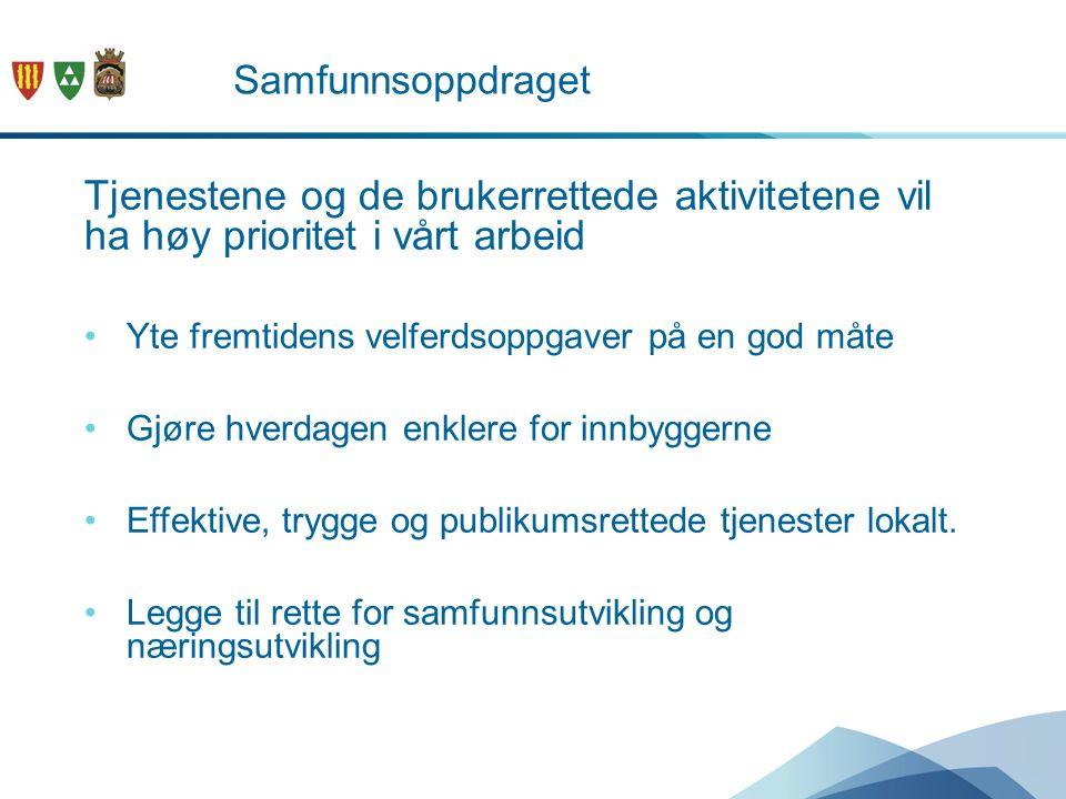 Å gjøre en forskjell - med «nye Sandefjord» Noen utfordringer; Demografisk utvikling Behov for kompetanse Utenforskapet Flyktninger