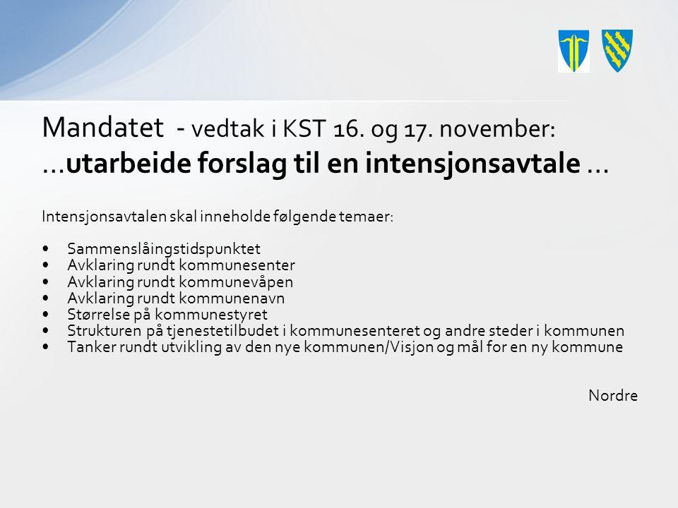 Mandatet - vedtak i KST 16. og 17.