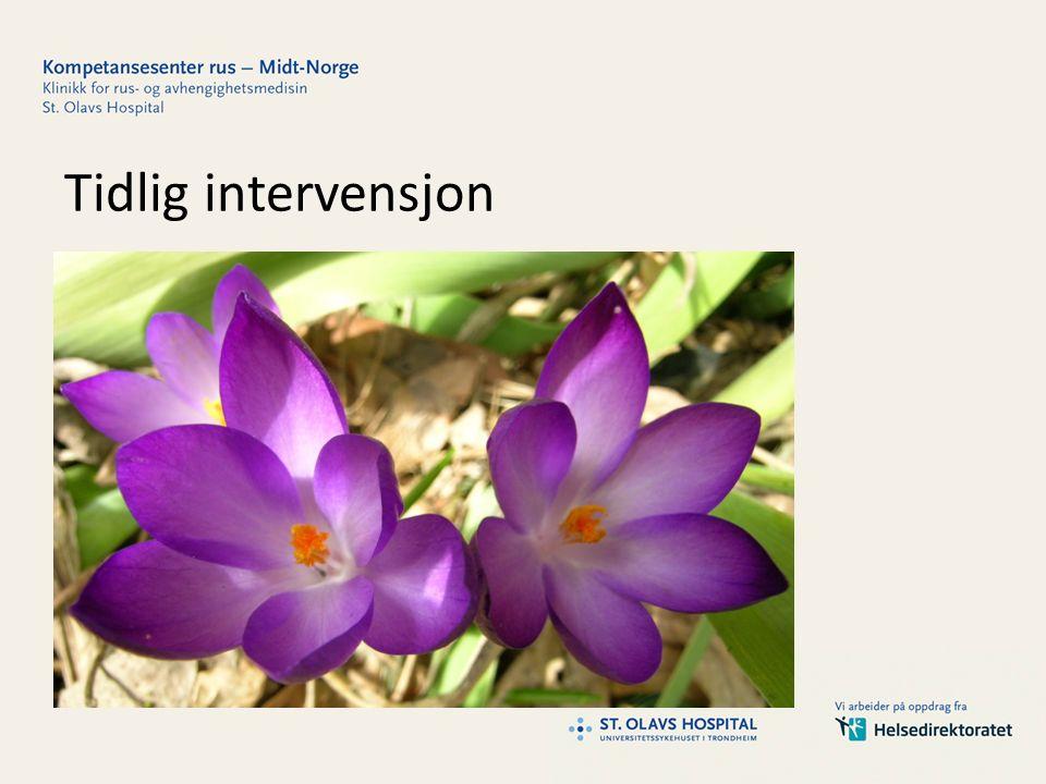 Tidlig intervensjon