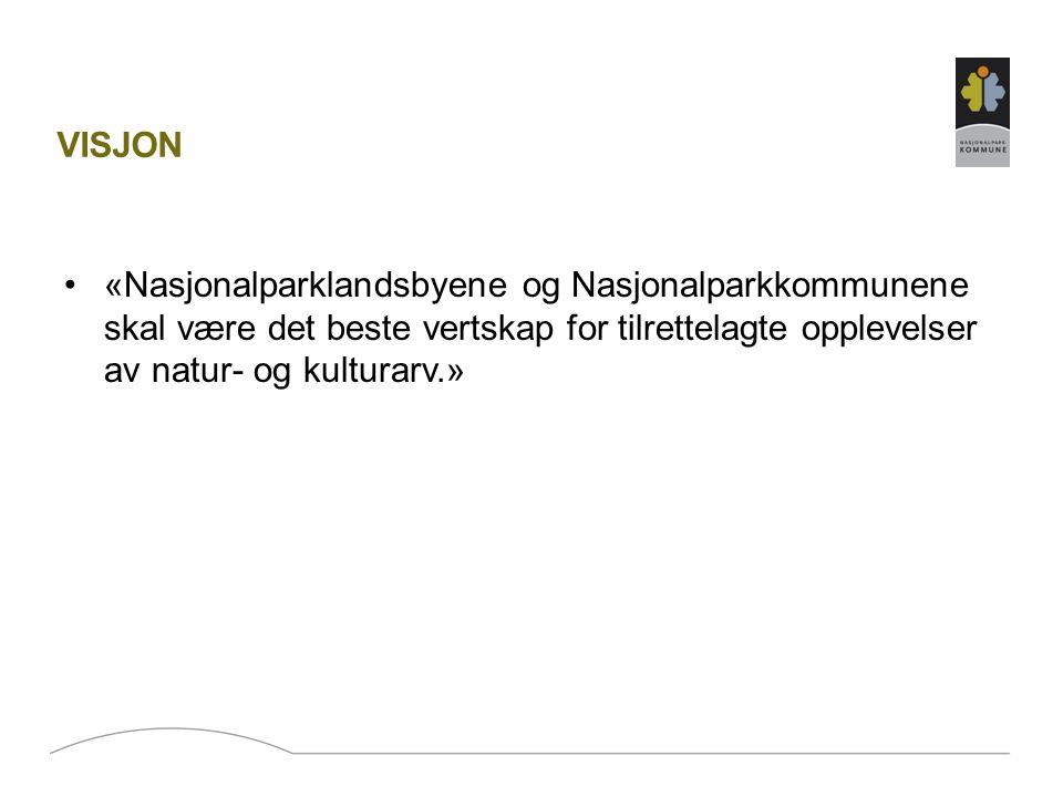 REKRUTTERING Nasjonalparkkommunene har som ambisjon å rekruttere samtlige kommuner som oppfyller kravene til å bli en Nasjonalparkkommune inn i satsingen for å sikre tyngde og gjennomslagskraft.