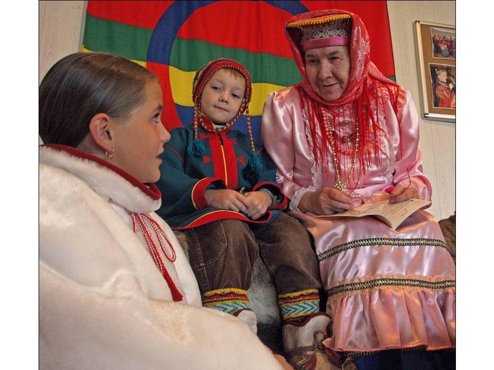 Illustrert barnebibel på kildin-samisk
