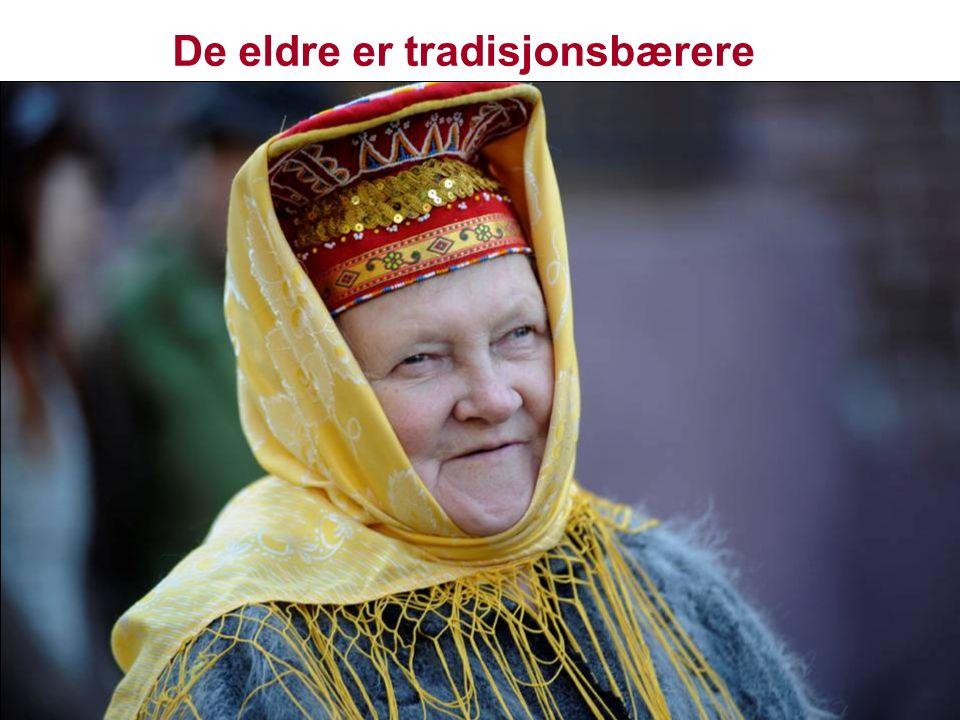 De eldre er tradisjonsbærere