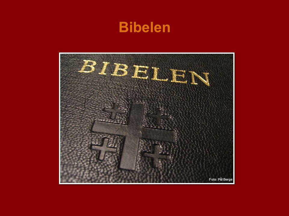 Bibelen Foto: Pål Berge