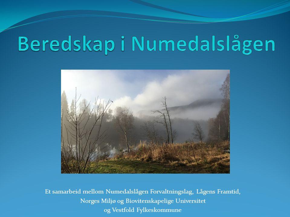 Et samarbeid mellom Numedalslågen Forvaltningslag, Lågens Framtid, Norges Miljø og Biovitenskapelige Universitet og Vestfold Fylkeskommune