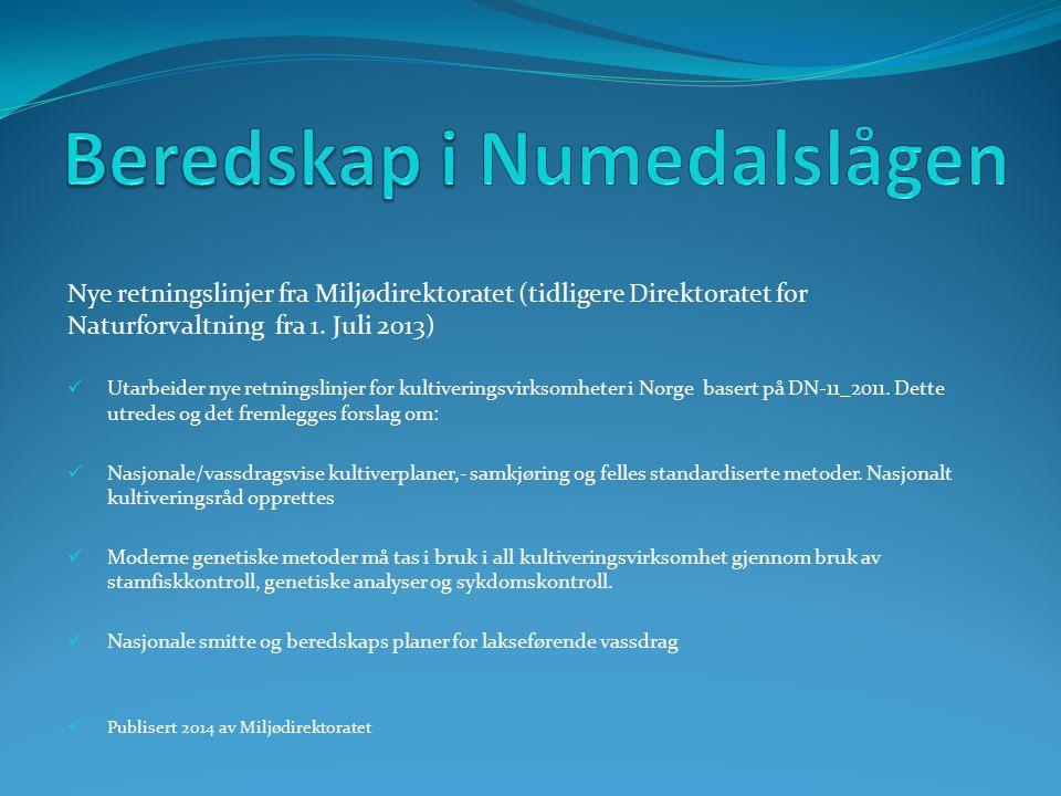 Nye retningslinjer fra Miljødirektoratet (tidligere Direktoratet for Naturforvaltning fra 1.