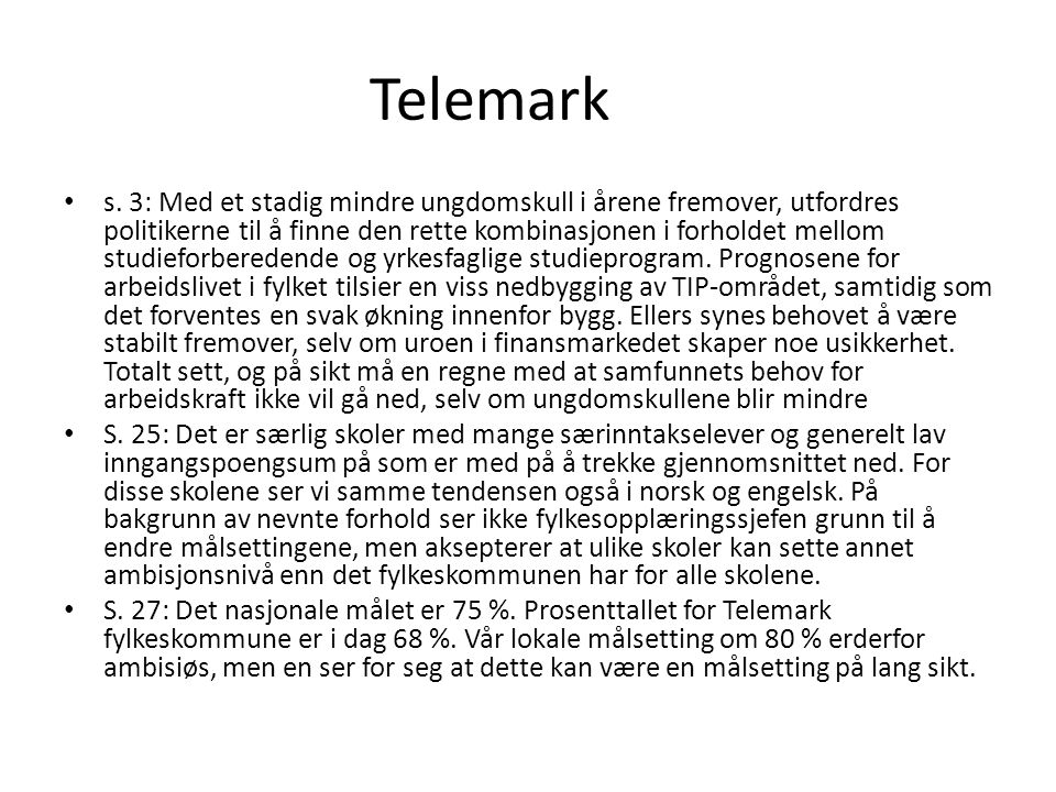 Telemark s.