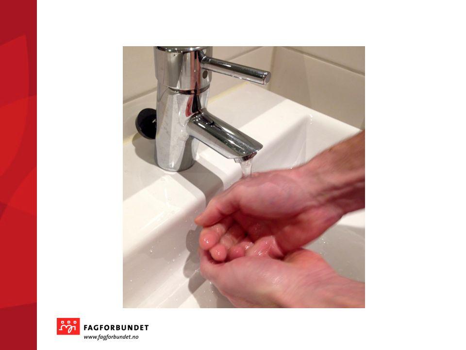 Hvorfor håndhygiene.
