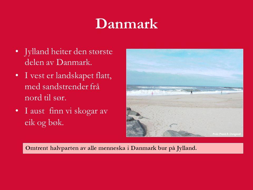 Danmark  På Jylland finn vi dei to populære turistattraksjonane Løveparken og Legoland.