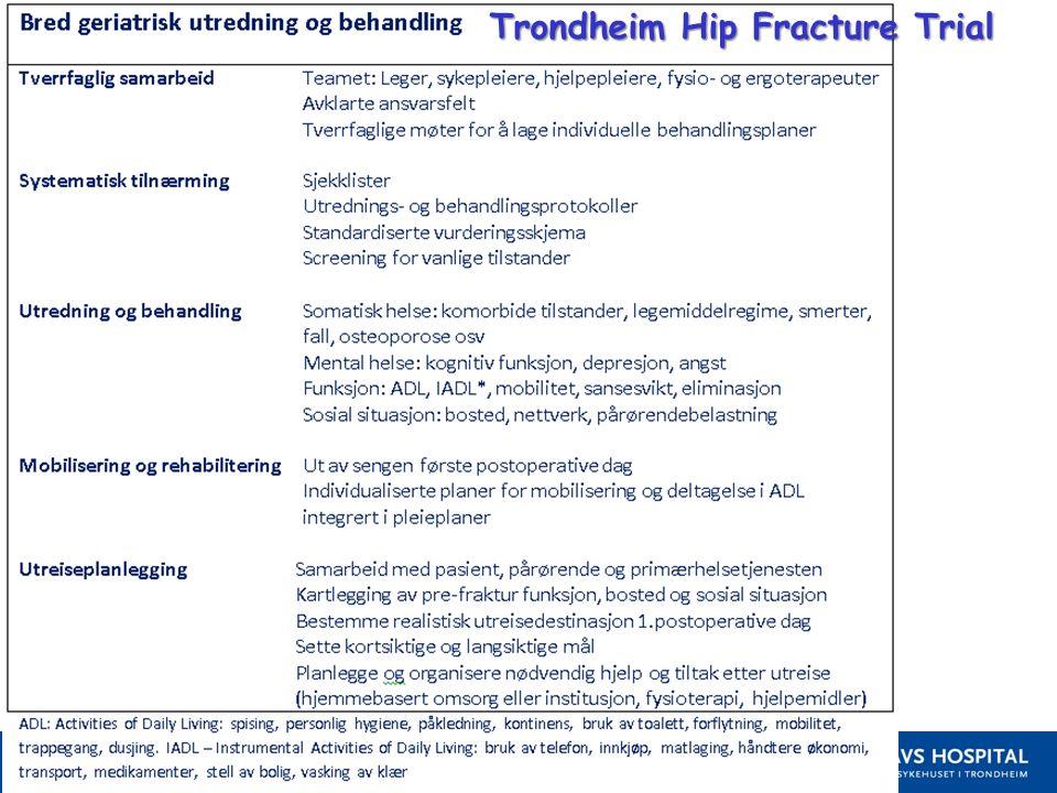 12 Trondheim Hip Fracture Trial