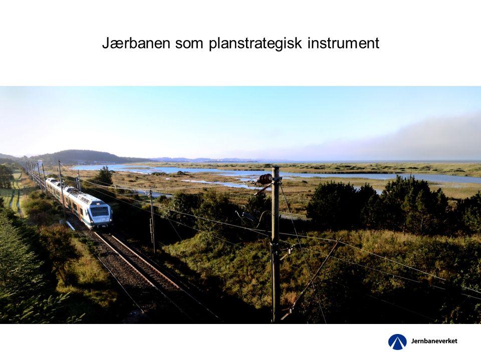 Jærbanen som planstrategisk instrument