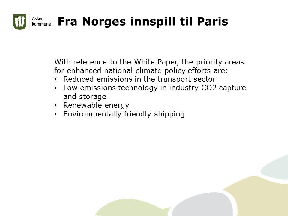 Disse utslipp omfattes ikke på fylkesnivå: olje- og gassutvinning offshore, jernbane, innenriks luftfart, innenriks sjøfart og fiske, utenriks sjøfart, gassdistribusjon, bensindistribusjon